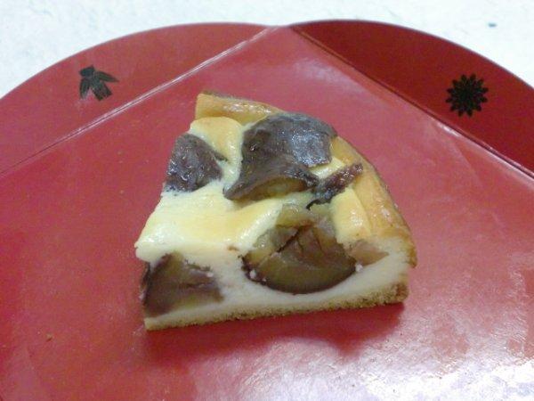 画像2: 丹波栗のベイクドチーズケーキ