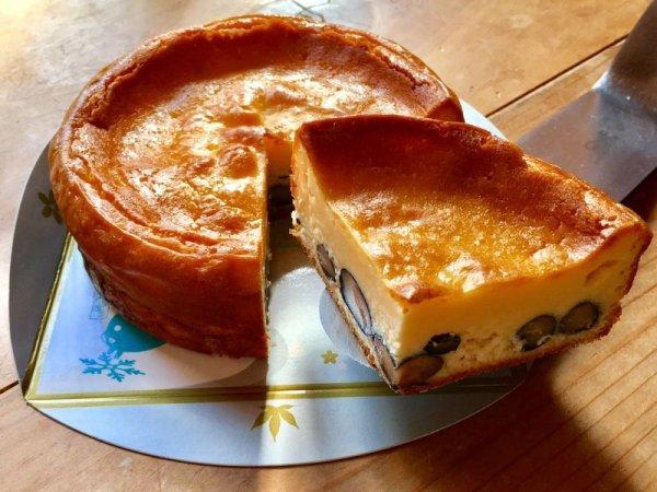 画像1: 丹波黒豆のチーズケーキ 4号(12cm)