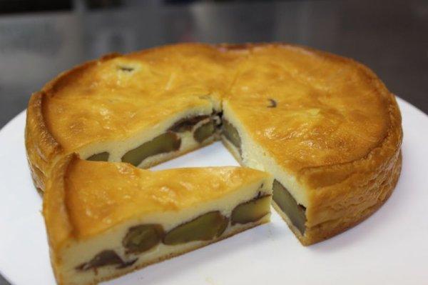 画像1: 丹波栗のベイクドチーズケーキ