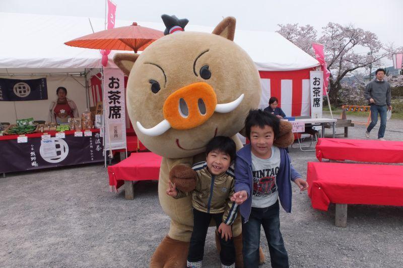 篠山城址 桜祭り
